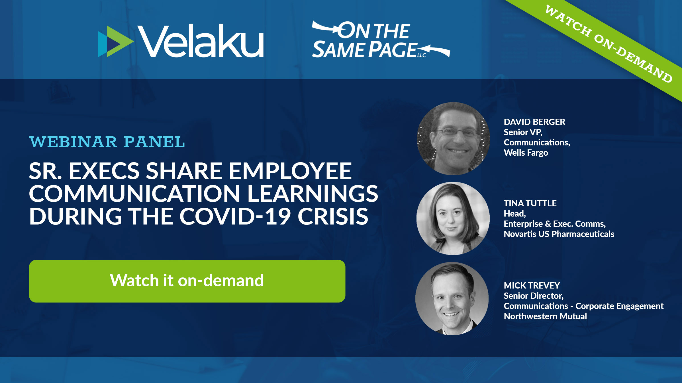 Webinar #1 Senior Execs Share Employee Communication Learning During the COVID-19 Crisis